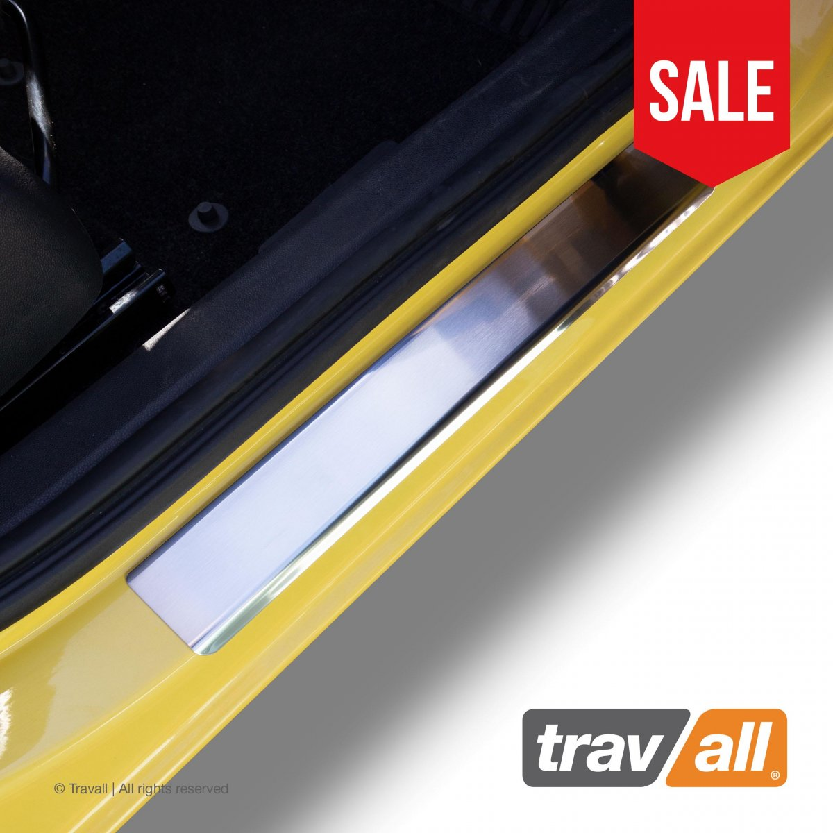 Travall® Sillguards for Opel/Vauxhall Corsa 5 Door Hatchback (2006-2019)