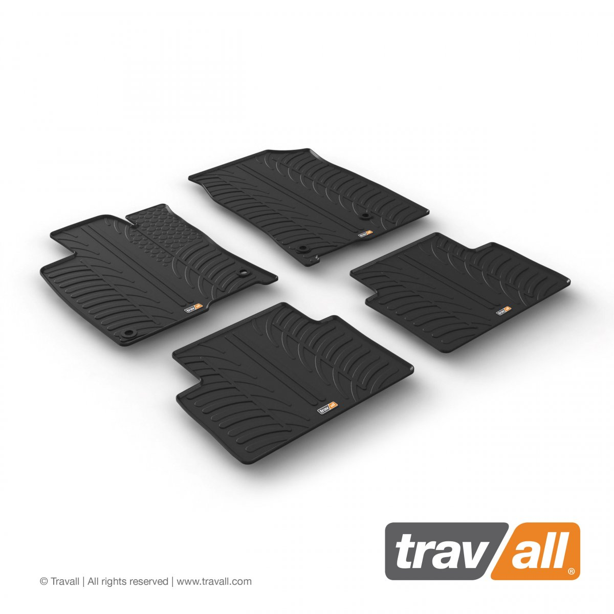 Travall® MATS pour Honda Civic Hayon (2017 >) / Berline (2015 >)