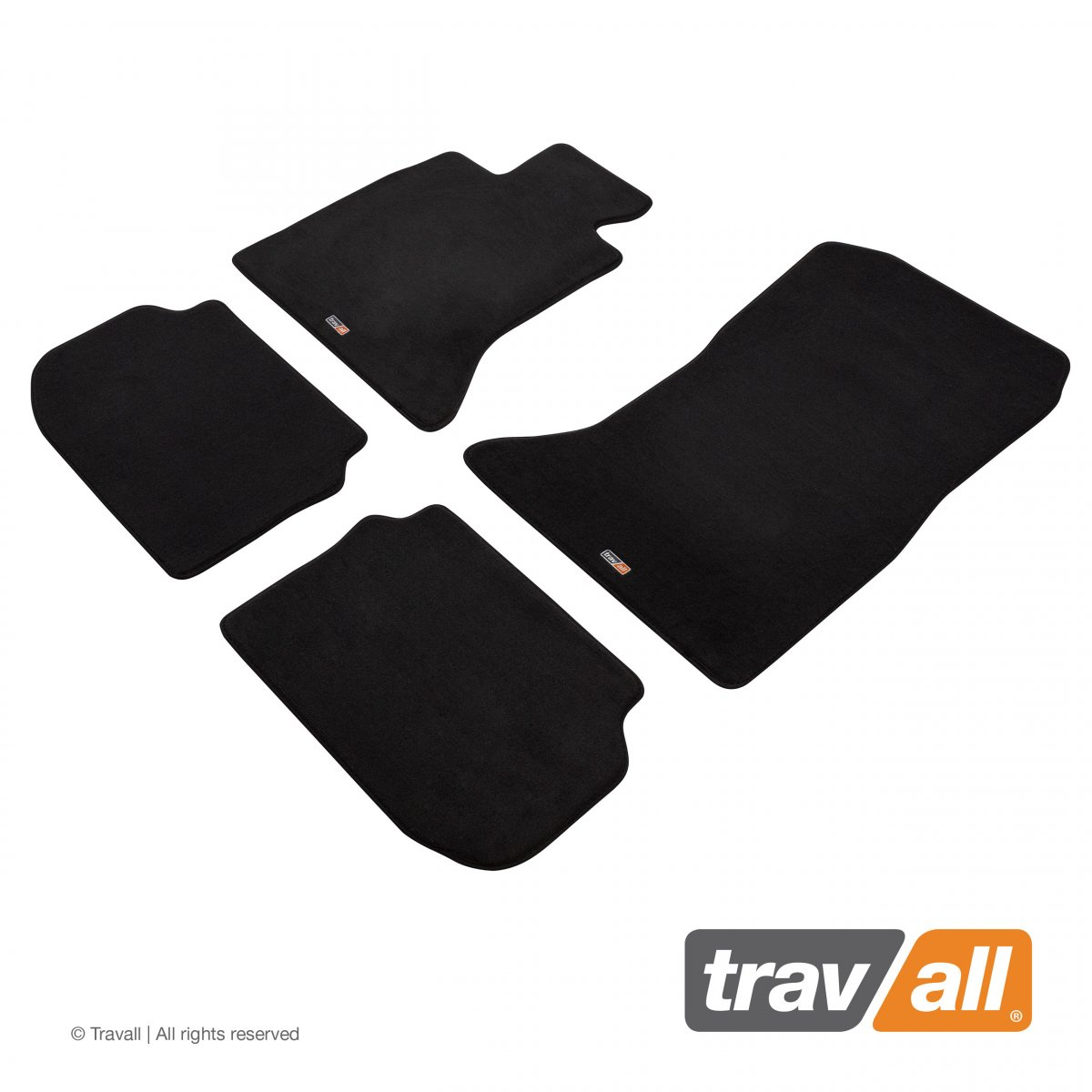 Travall® MATS [LHD] for BMW 5 Series Saloon / Estate (2013 - 2016)