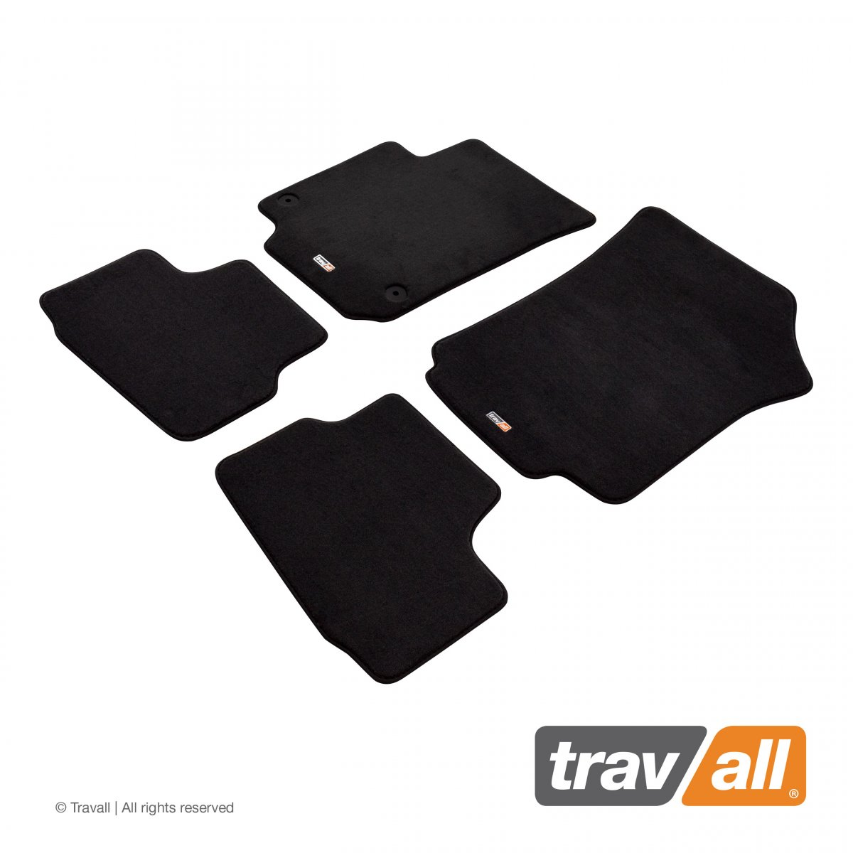 Travall® MATS [LHD] for Volkswagen UP! 3/5 Door (2011 - )