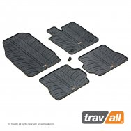 Rubber Mats for Fiesta 3 Door Hatchback 2002 - 2005