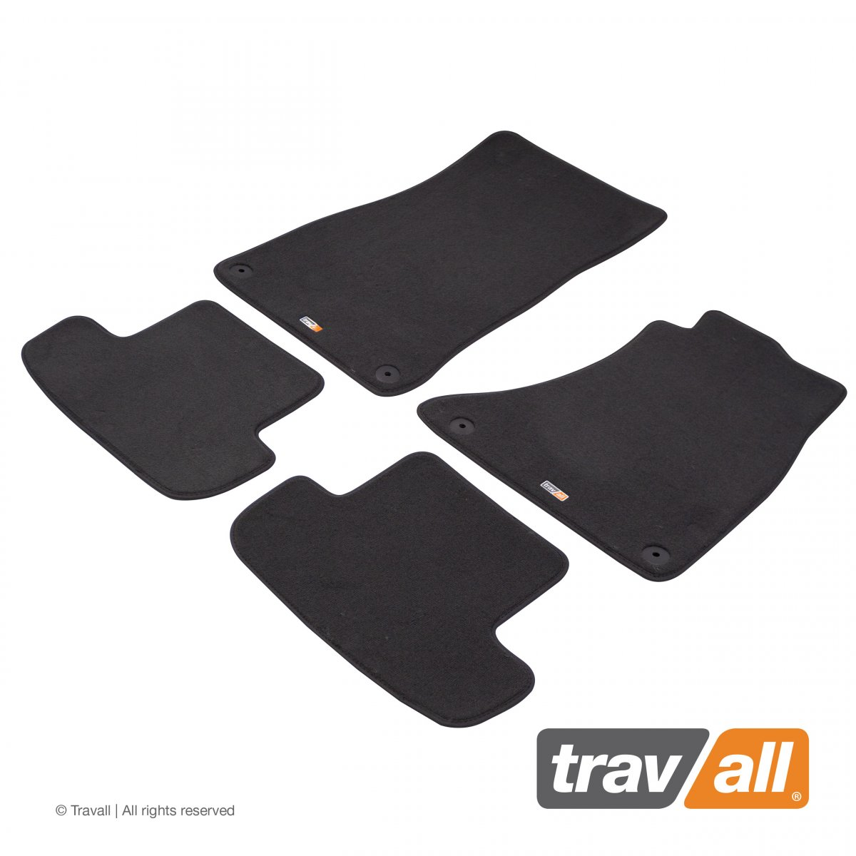 Travall® MATS [RHD] for Audi A5/S5 Coupe (2011 - 2016)