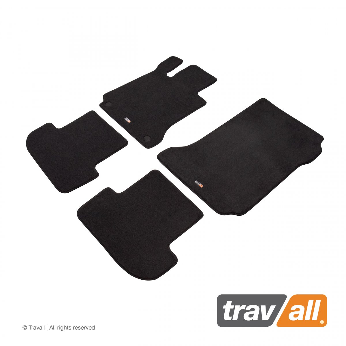 Travall® MATS [LHD] for Mercedes Benz E-Class Coupe [MANUAL] (2009 - 2013)