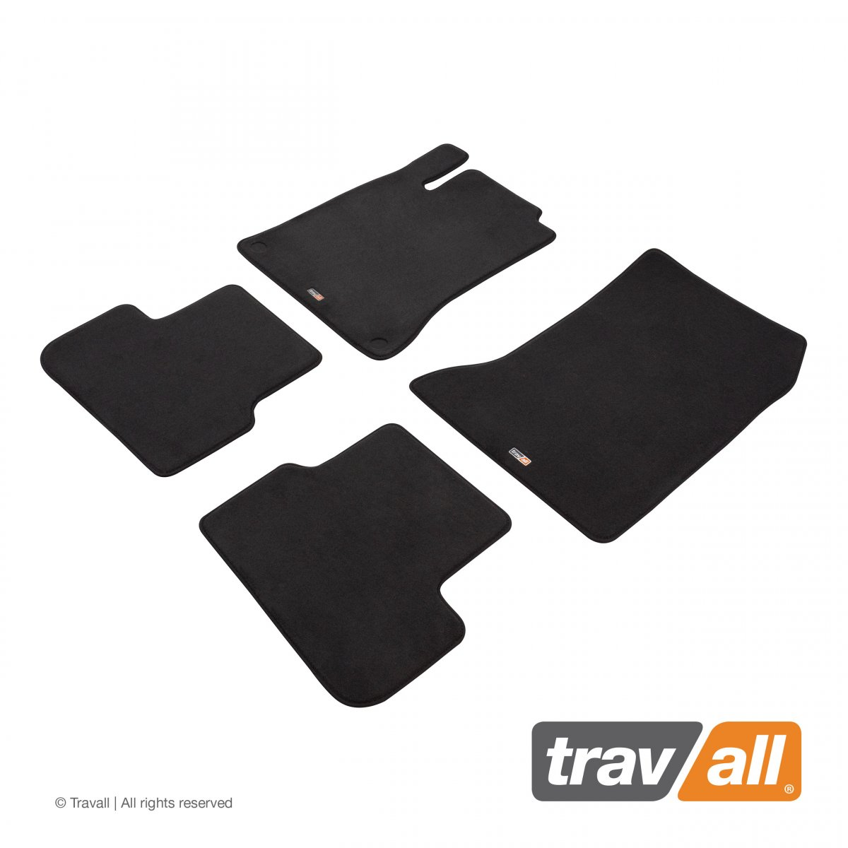 Travall® MATS [LHD] for Mercedes Benz A-Class / AMG Hatchback (2012 - 2018)
