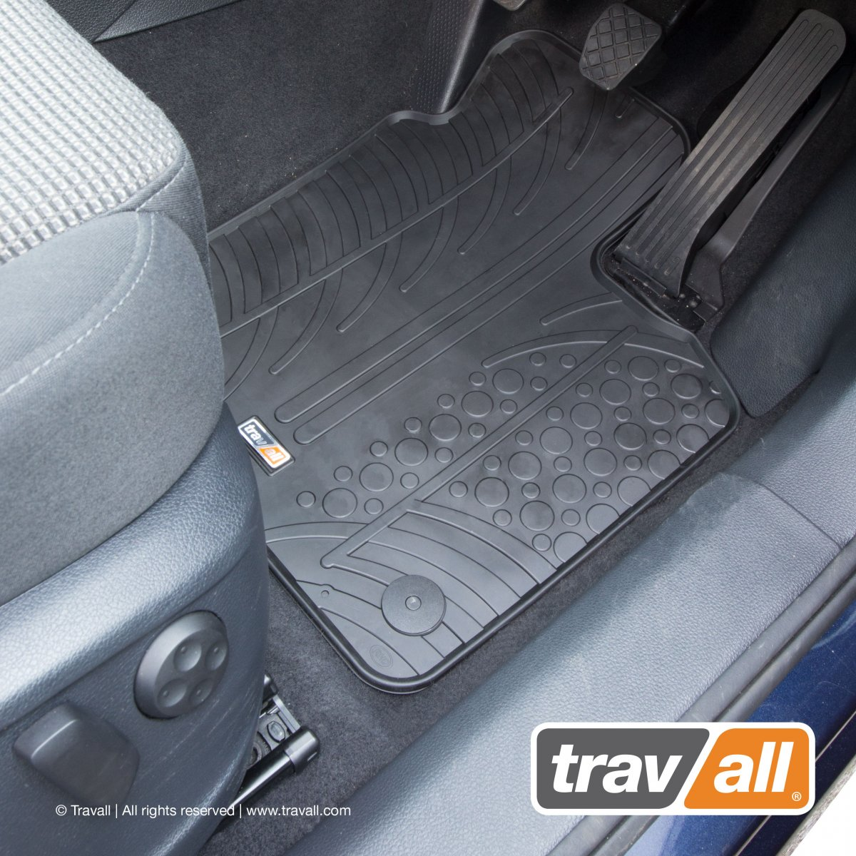 Travall® MATS pour Seat Alhambra / Volkswagen Sharan (2010 >)
