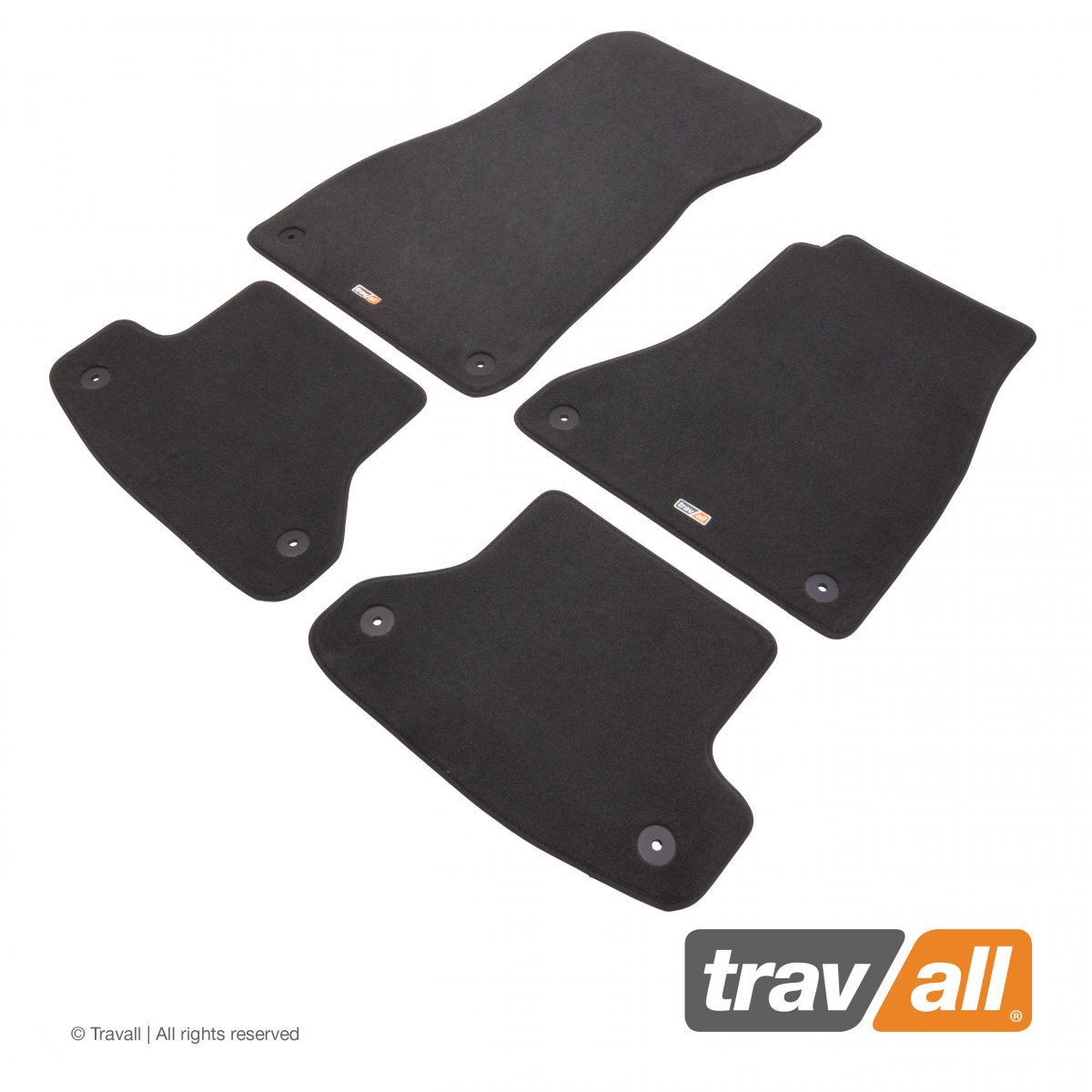 Travall® MATS [RHD] for Audi A5/S5 Coupe (2016 - )