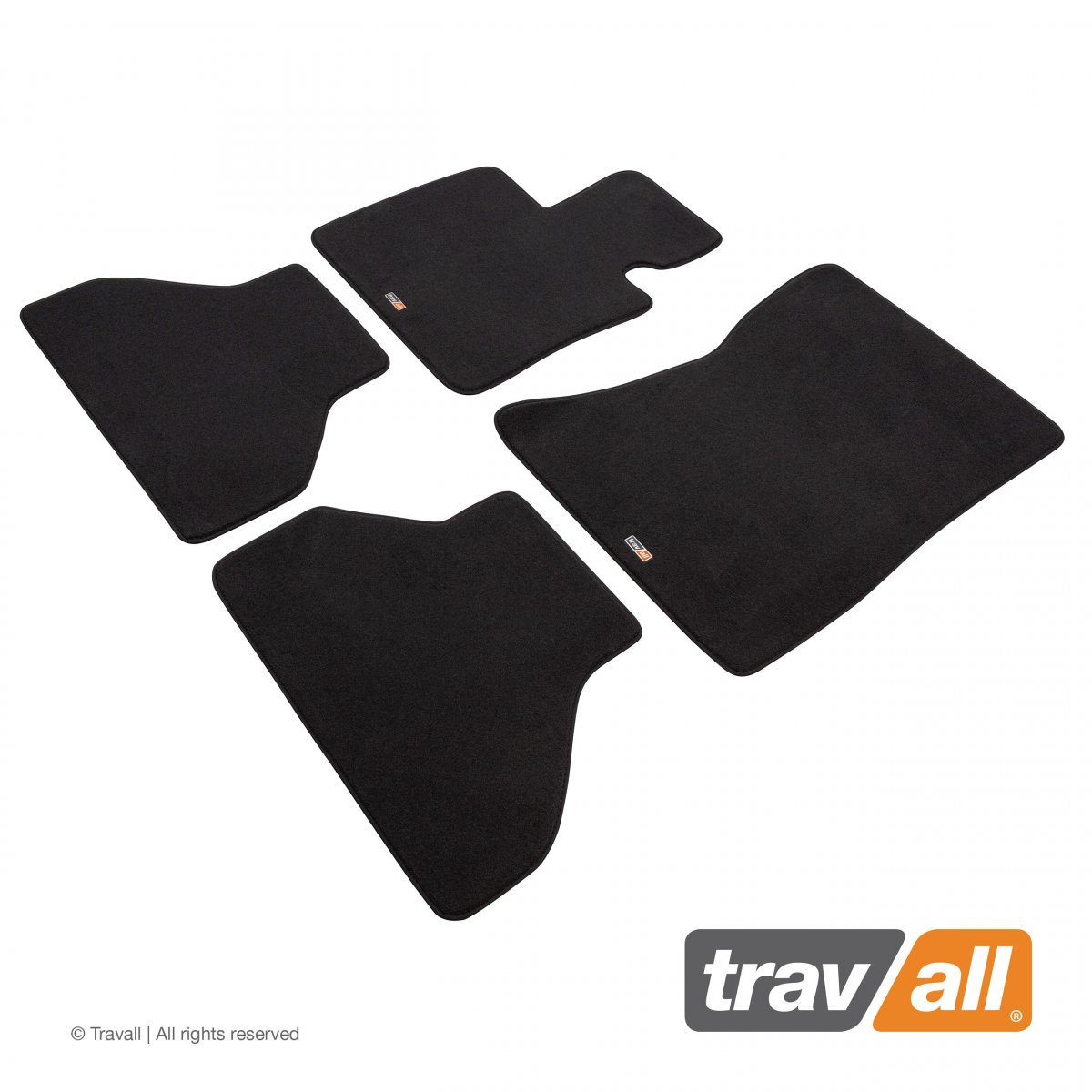 Travall® MATS [LHD] for BMW X5 [5 Seat] (2010 - 2013)