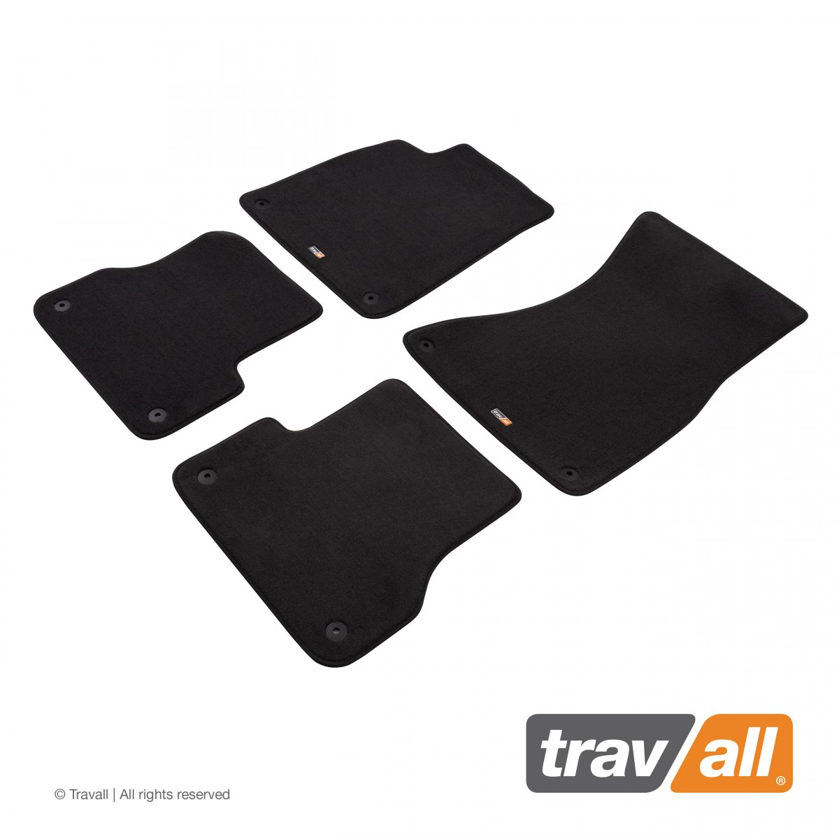 Travall® MATS [LHD] for Audi S4 Saloon / Estate (2012 - 2016)