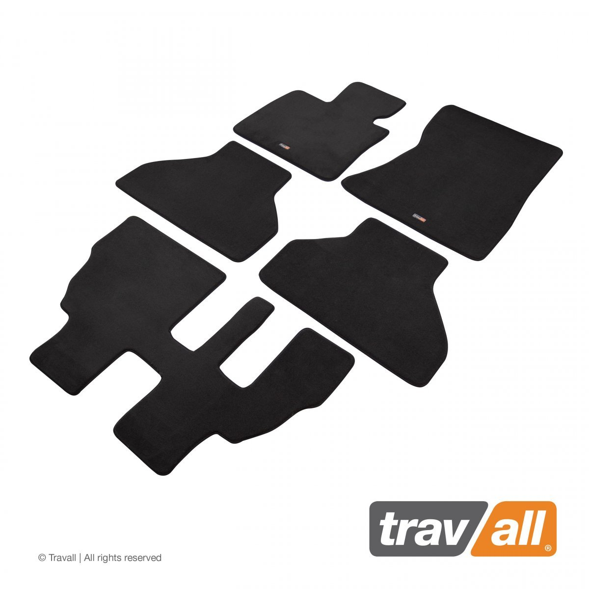 Travall® MATS [LHD] for BMW X5 [7 Seat] (2010 - 2013)