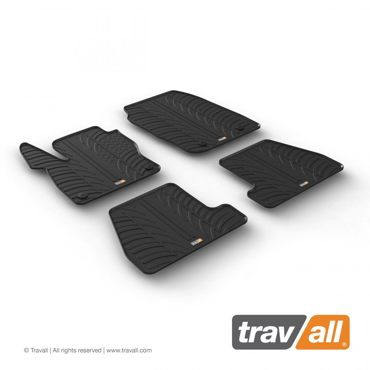 Travall® MATS pour Ford Focus 5 Portes Hayon/Break/ST (2014-2018) / RS (2015-2018)