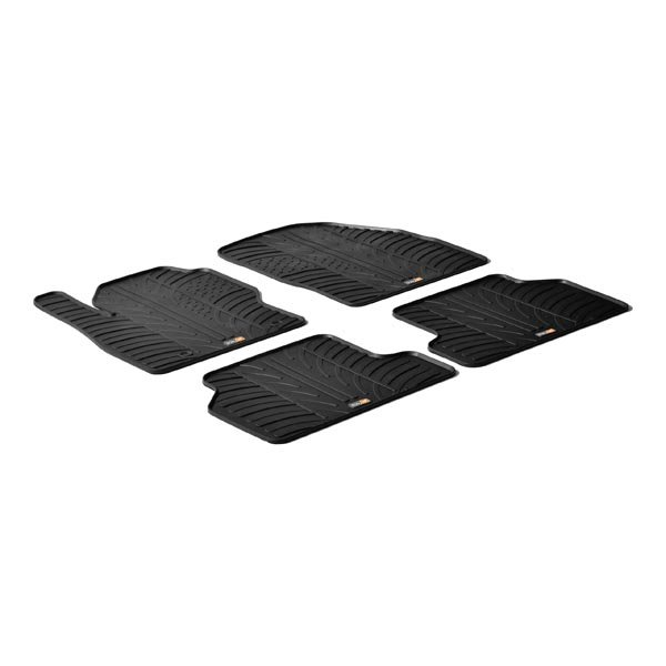 Travall® Mats pour Ford Focus SW/Hayon (2005-2010) / Berline (2004-2010)