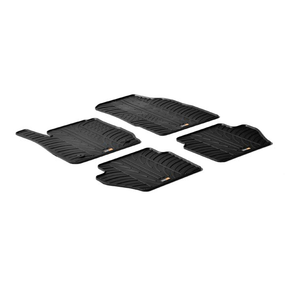 Travall® Mats pour Ford Fiesta Hayon (2008-2017) / ST (2012 >)