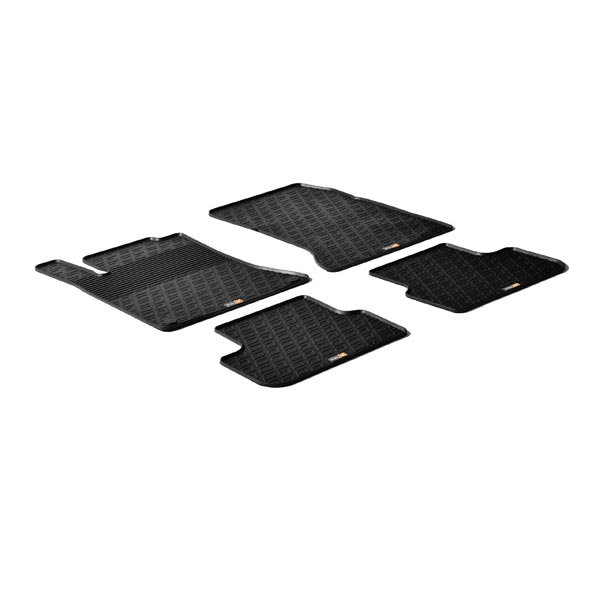 Travall® Mats pour Mercedes Benz Classe A 5 Portes (2012 >) / Classe B (2011 >) / CLA Shooting Brake/CLA 45 AMG (2015 >) / CLA (2013-2016) / A 45 AMG (2013-2018) /GLA/GLA 45 AMG (2013 >)
