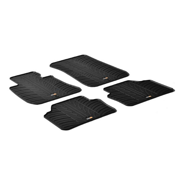 Travall® Mats pour BMW Serie 3 Berline/Touring (2005-2012) / M3 Berline (2007-2011)