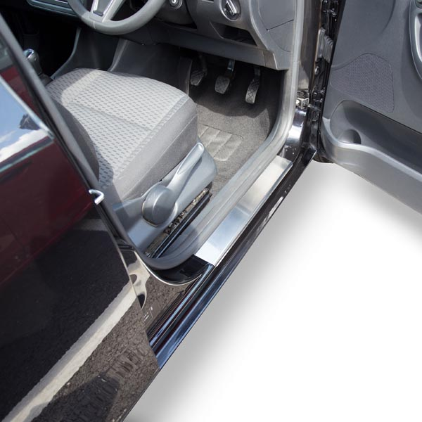 Travall® Sillguards pour Skoda Fabia 5 Portes Hayon/Break (2007 >)